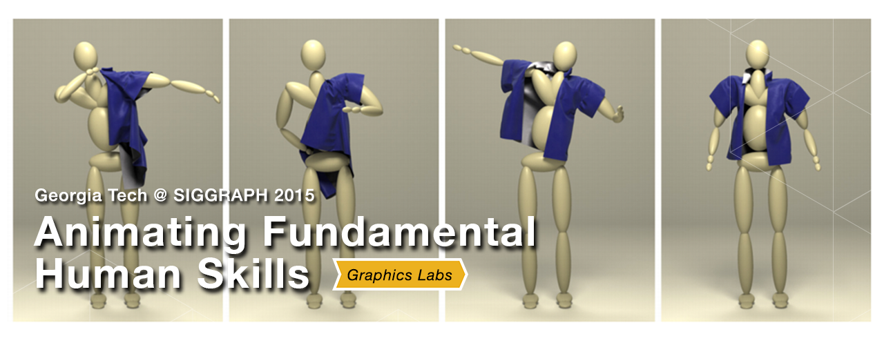 Animating Human Dressing - SIGGRAPH 2015